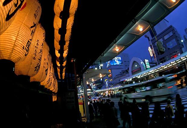 Lanterns and Traffic